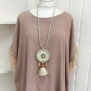 Blush Feather Detail Top (1)