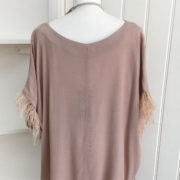 Blush Feather Detail Top (6)