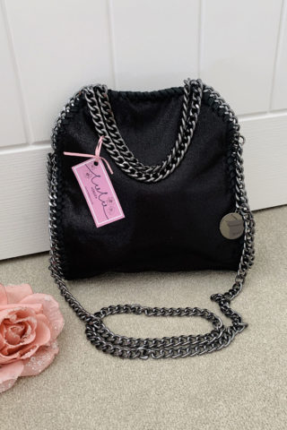 Black Small Chain Handbag