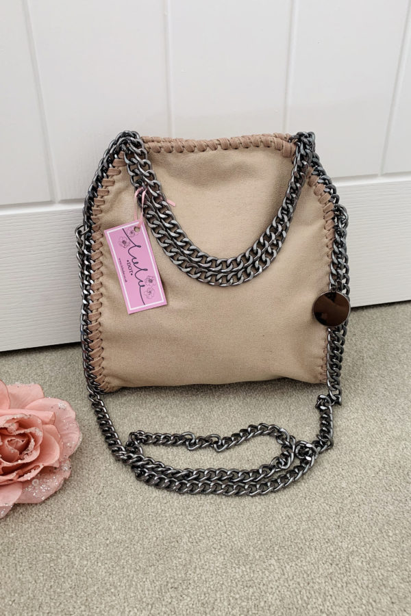 Nude Small Chain Handbag